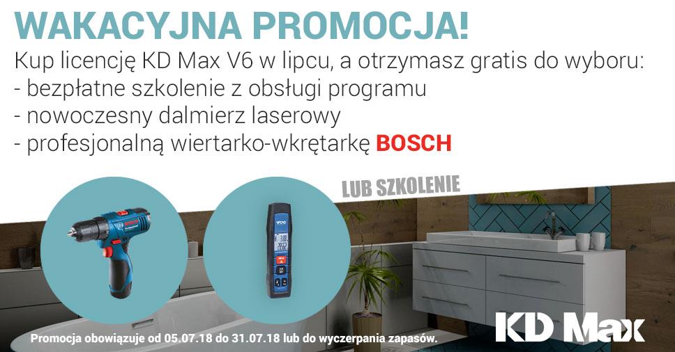 Wakacyjna promocja KD Max