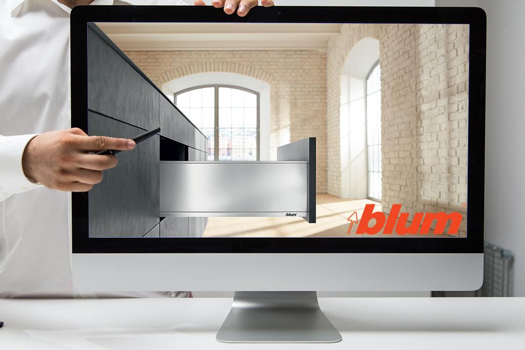 Webinarium: Zastosowanie biblioteki firmy BLUM w KD Max V6