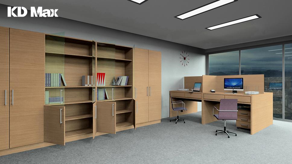 Jak zaprojektować meble biurowe w KD Max?
