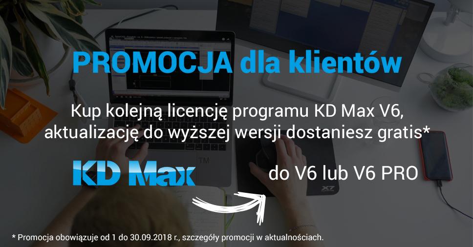 Promocja dla klientów KD Max