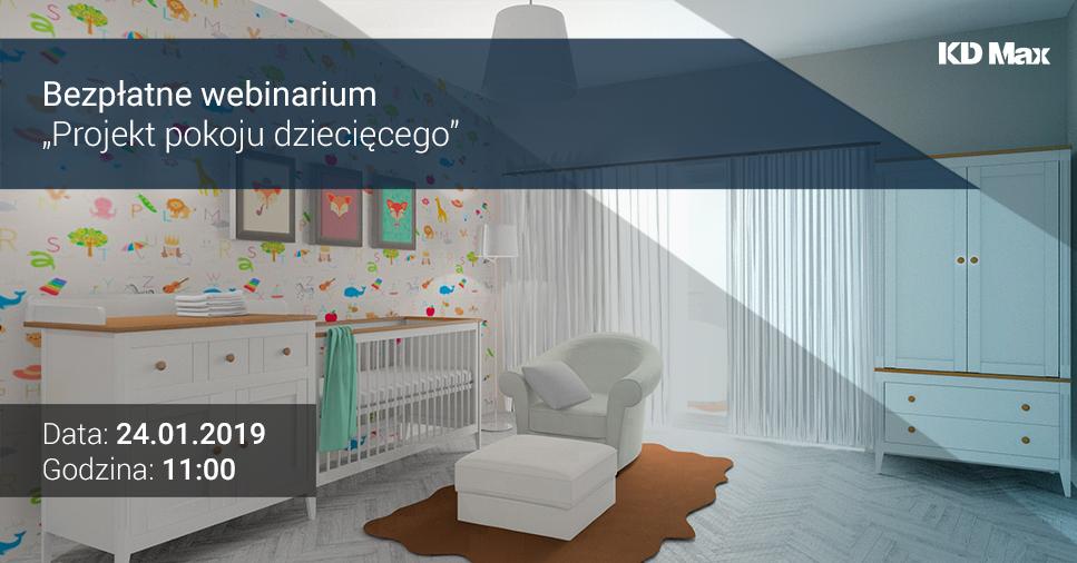 Webinarium: Projekt pokoju dziecięcego