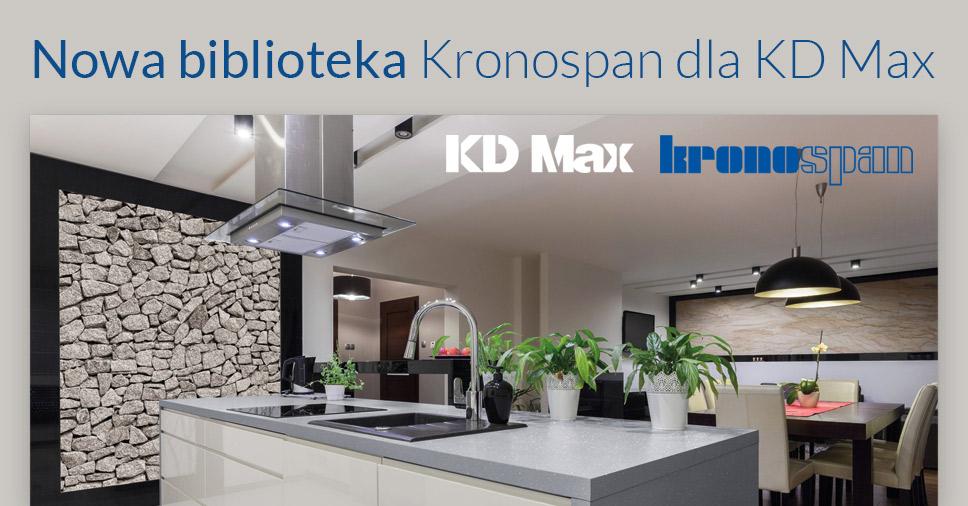 Nowa biblioteka Kronospan dla użytkowników KD Max