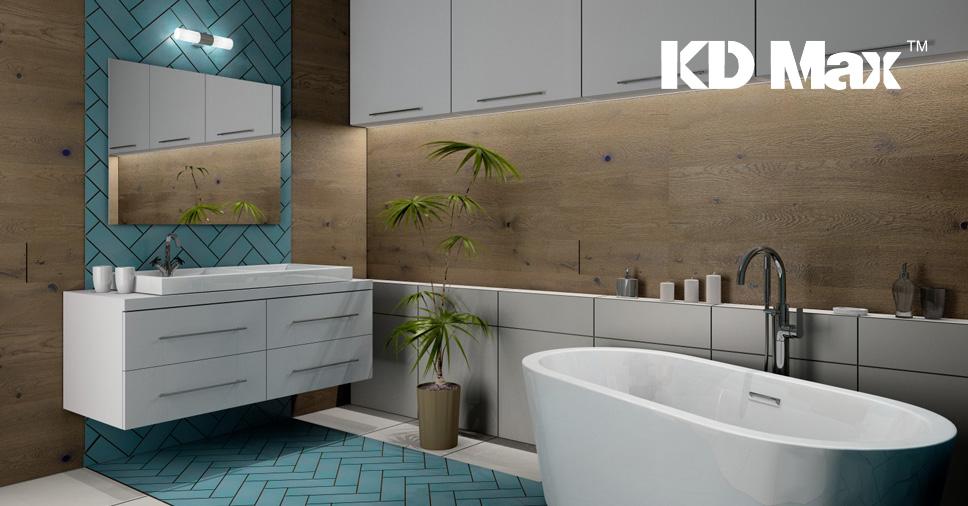Webinarium: Projektowanie łazienki turkusowej w KD Max V6