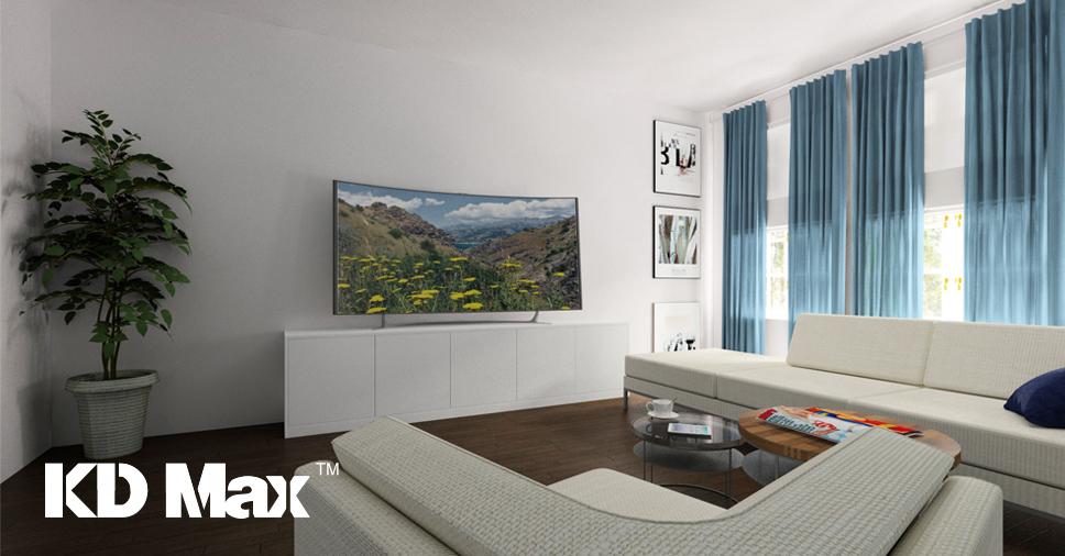 Webinarium: Szybki projekt koncepcyjny salonu z aneksem kuchennym w programie KD Max V6
