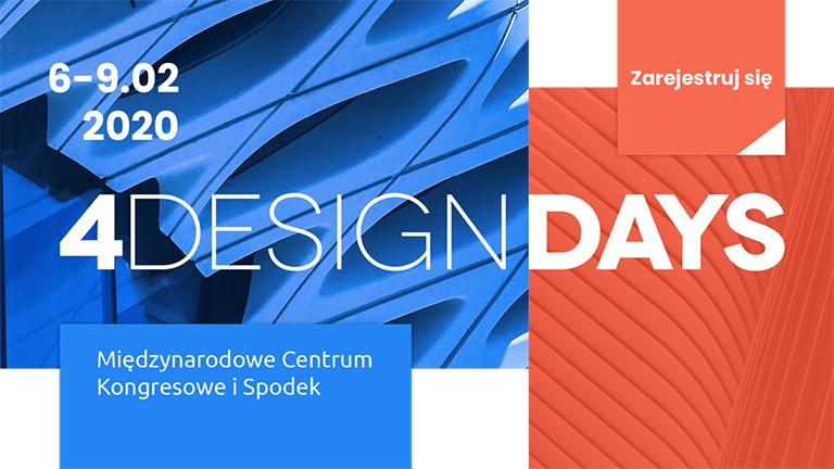 Spotkajmy się na 4 Design Days 2020 w Katowicach!