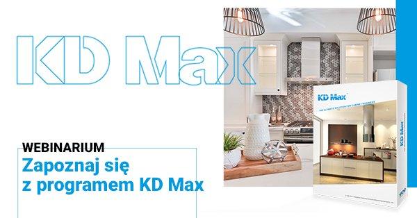 Prezentacja online programu KD Max V6 na Facebooku