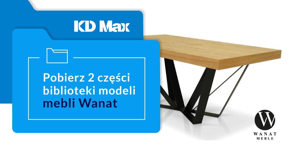 Druga część biblioteki Wanat dla KD Max