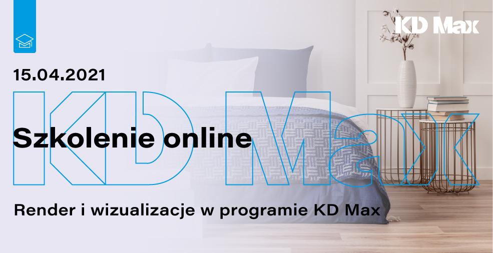 Szkolenie: Render i wizualizacje w programie KD Max